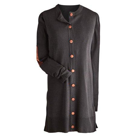 Wholesale Sweaters (Women's Dartmouth Long Cardigan - Button Down)