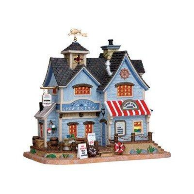 Lemax Inc lemax village building captain's chowder house ...