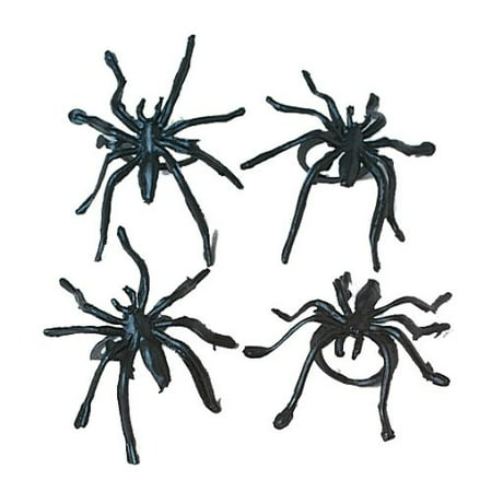 Plastic Spider Rings : package of 36](Plastic Spider Rings)