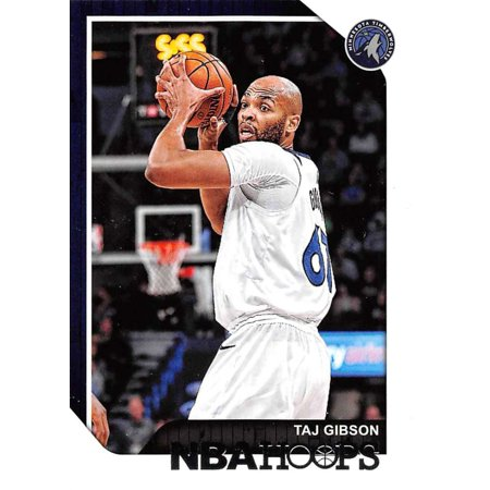 2018-19 Panini Hoops #200 Taj Gibson Minnesota Timberwolves Basketball Card