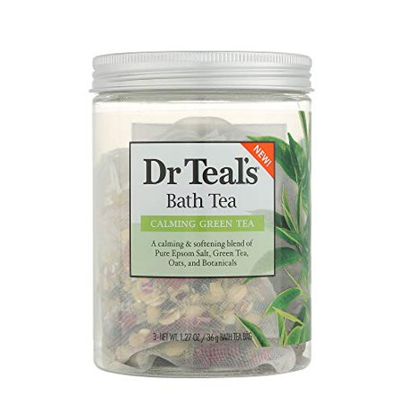 Dr Teal's Green Tea Bath Soaks 3oz, pack of 1