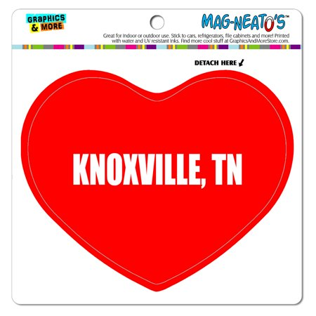 I Love Heart - City State - Knoxville TN - MAG-NEATO'S(TM) Vinyl Magnet - Halloween City Knoxville Tn
