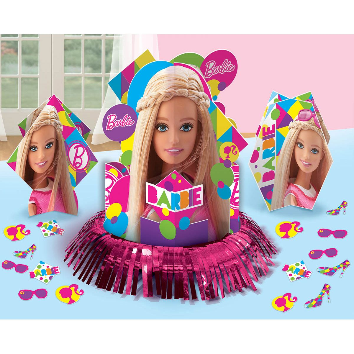 Barbie Sparkle Table Decorating Kit - Party Supplies