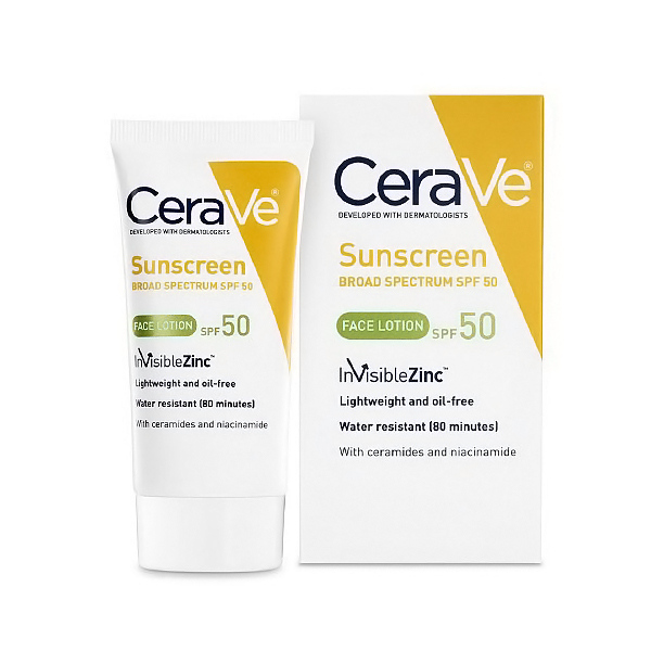 Cerave Sunscreen Face Lotion, Spf 50 - 2 Oz, 6 Pack