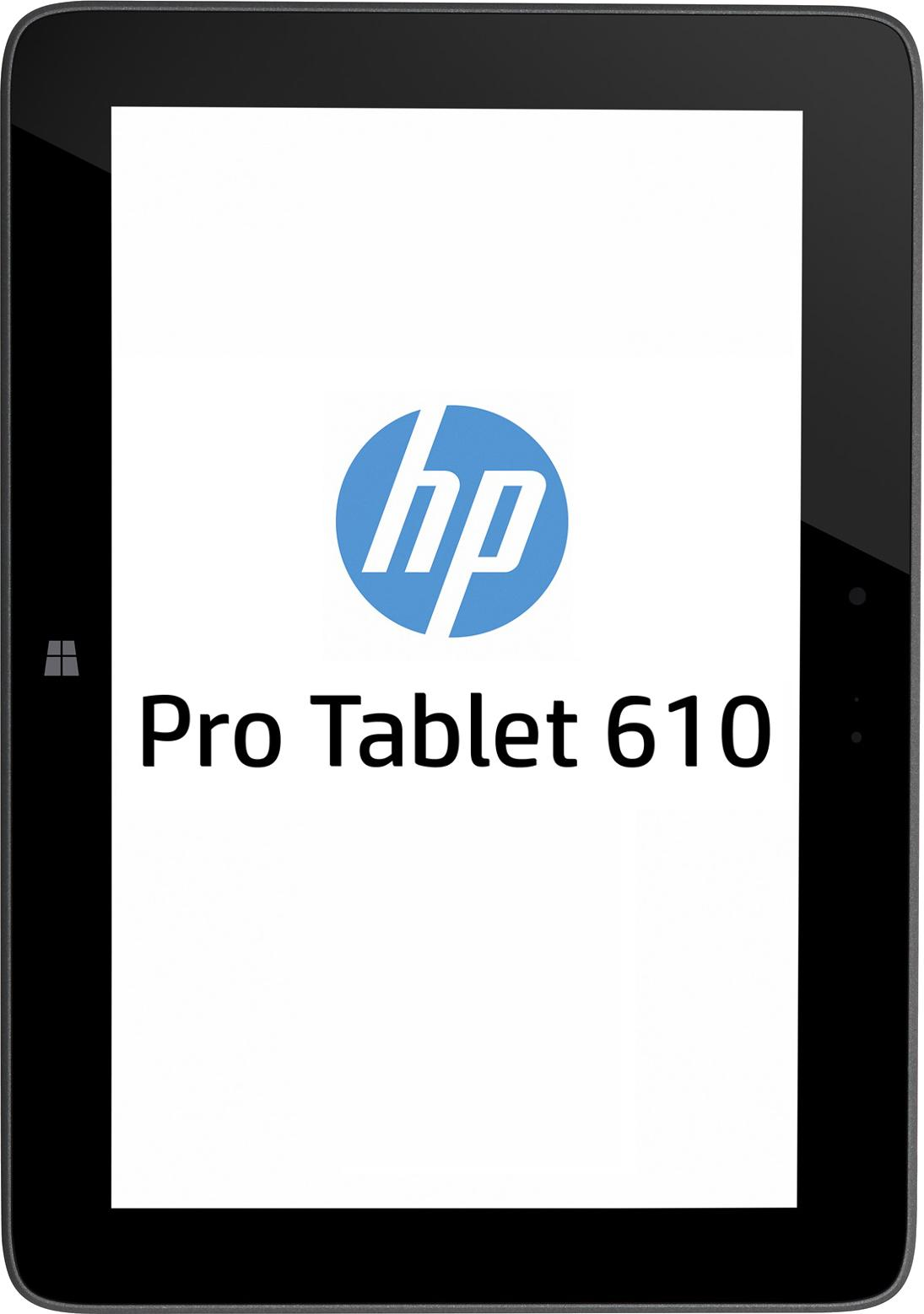 "Manufacturer Refurbished - HP Pro 610 G1 10.1"" Tablet Intel Z3795 1.59GHz 4GB 64GB Win 8.1 Pro 