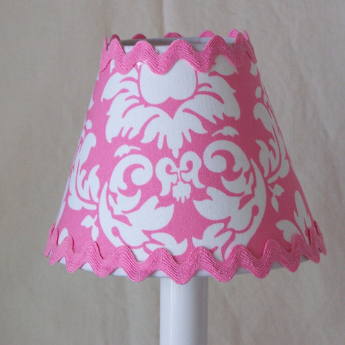 Silly Bear Lighting Damask Table Lamp Shade