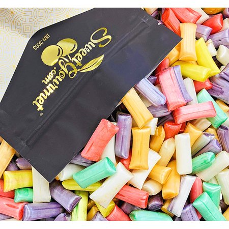 SweetGourmet Chocolate Filled Straws | Christmas Candy | Kosher | 15oz ()
