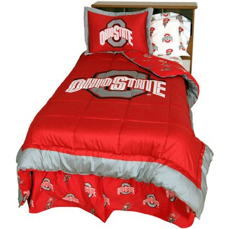 College Covers NCAA Ohio State Reversible Comforter Set