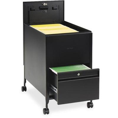 Safco Rollaway Mobile File Cart SAF5364BL ()