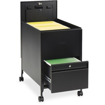 Safco Rollaway Mobile File Cart SAF5364BL