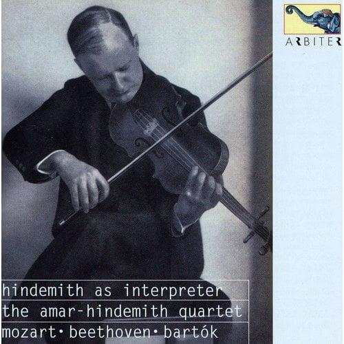 Hindemith As Interpreter