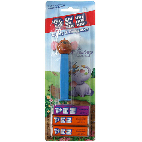 Pez Winnie The Pooh Candy With Dispenser, 3pk  (Pack of 6)