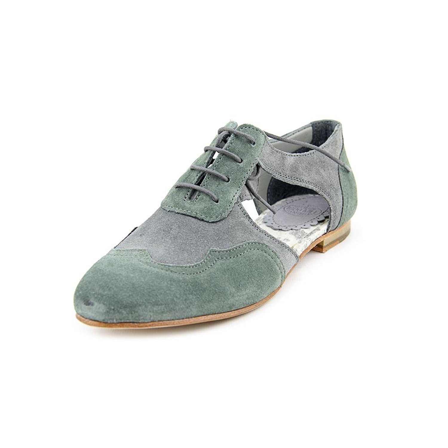 Wolverine 1000 Mile Women's Doris Lace Up Oxfords,Gray,6.5 B by Samantha Pleet for Wolverine