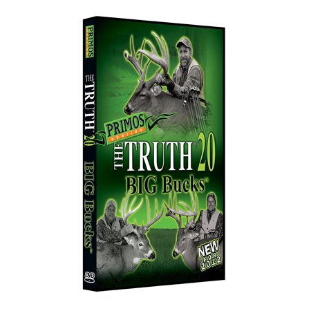 The TRUTH 20 BIG Bucks DVD By Primos Hunting (Stick Of Truth Big Game Hunting Rubbing Alcohol)