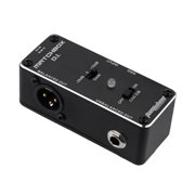 AROMA AMX-3 MATCHBOX D.I. Transfer Guitar or Bass Signal Directly to Audio System Mini Analogue Effect Pedal True Bypass