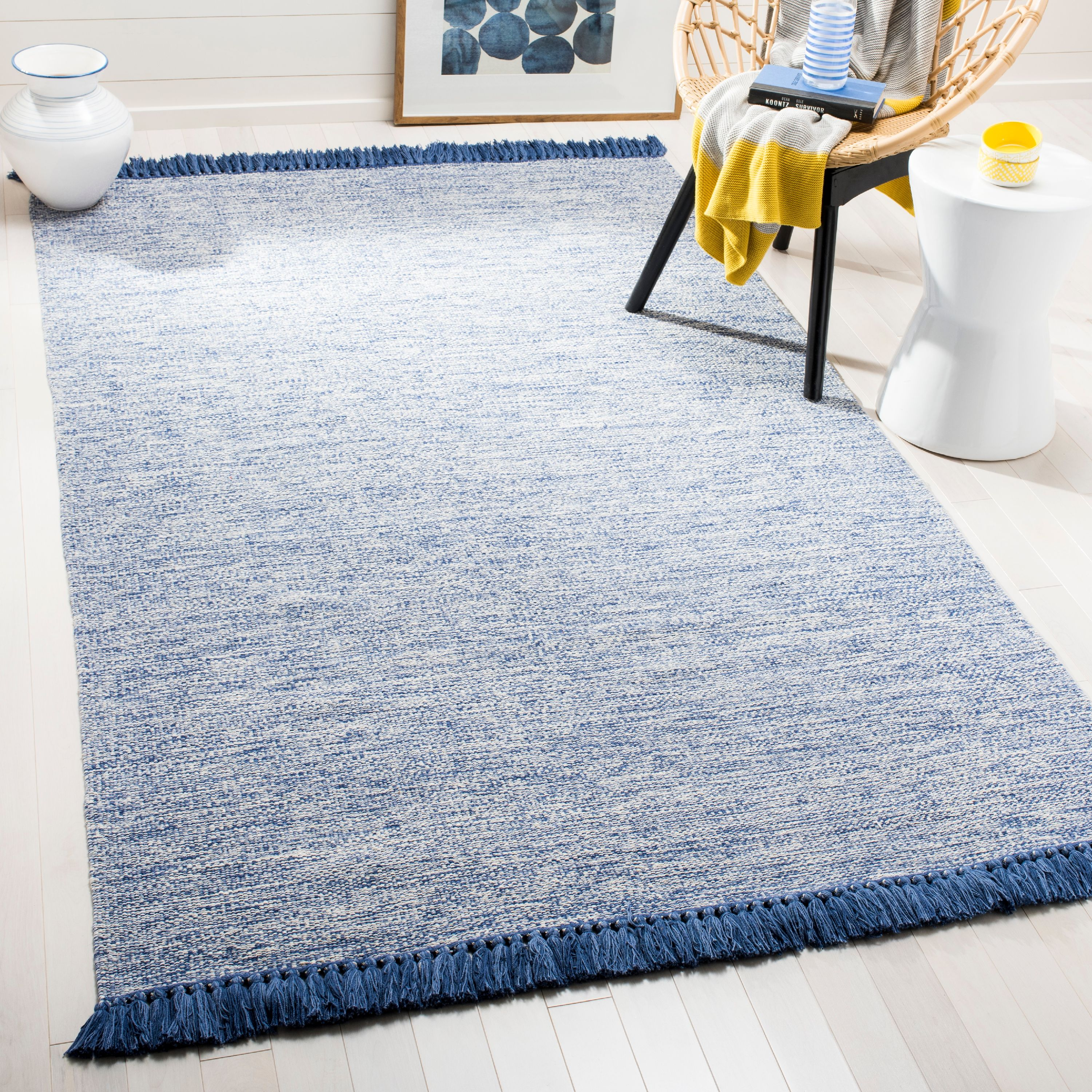 Safavieh Montauk Justin Solid Braided Area Rug
