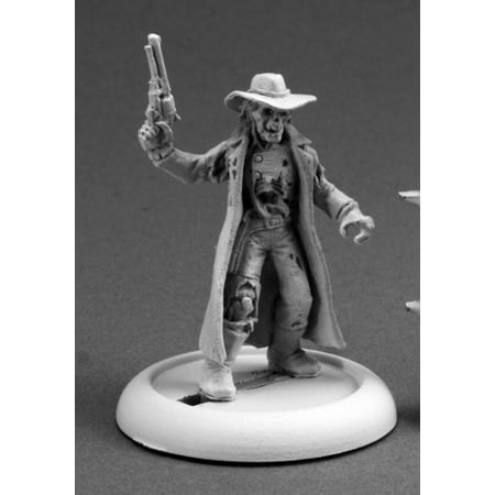 Reaper Miniatures Undead Outlaw #59017 Savage Worlds Unpainted RPG Mini