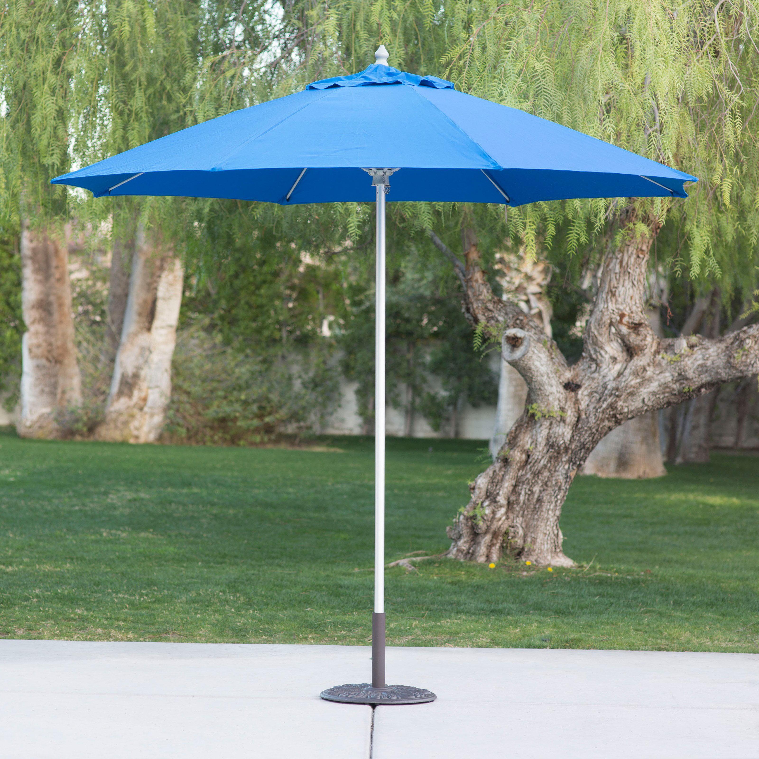 Belham Living 9 ft Sunbrella mercial Aluminum Wind Resistant