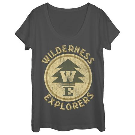Columbia Womens Explorer - Up Women's Wilderness Explorer Badge Scoop Neck T-Shirt