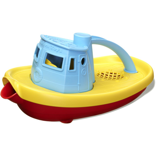 Green Toys Tug Boat Bath Toy, Blue Top