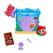 Disney Doorables Mini Playset Ariel's Secret Cove, Ages 3 +