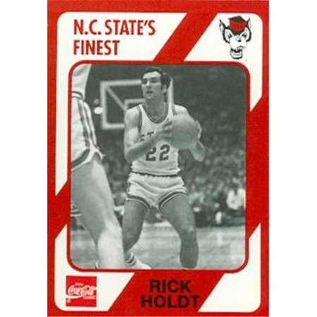 Rick Holdt Basketball Card (N.C. North Carolina State) 1989 Collegiate Collection
