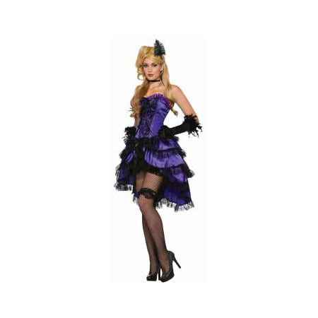 CO-AMETHYS SALOON GIRL - Adult Saloon Girl Costume