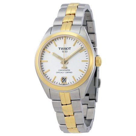 PR 100 Automatic Silver Dial Ladies Watch T101.208.22.031.00