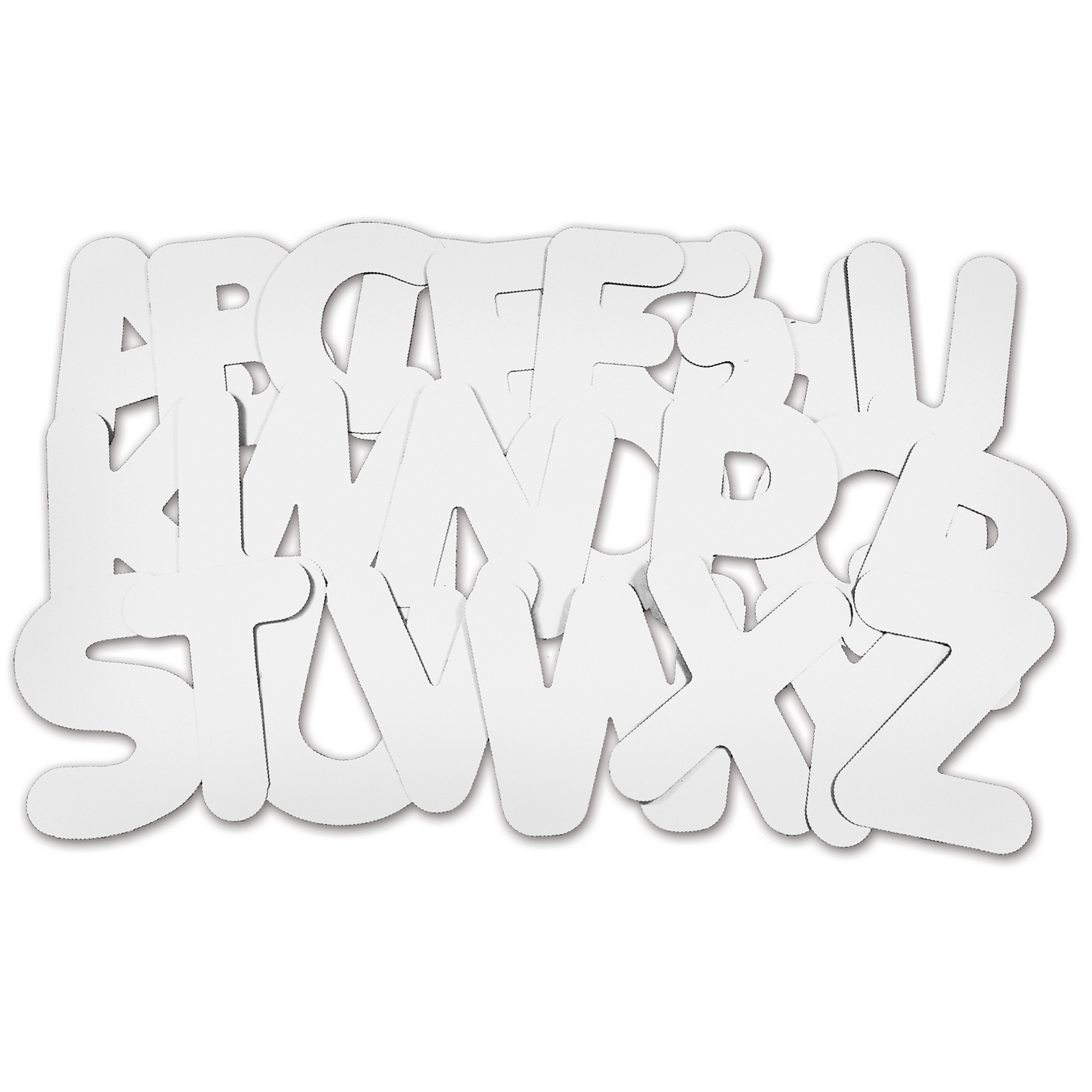 Roylco® Collage Letters, Uppercase
