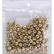 Darice Jingle Bells, Gold, 6mm, 144/pkg