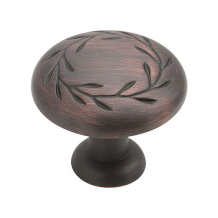 Natures Splendor 1-5/16 in (33 mm) Diameter Oil-Rubbed Bronze Cabinet Knob