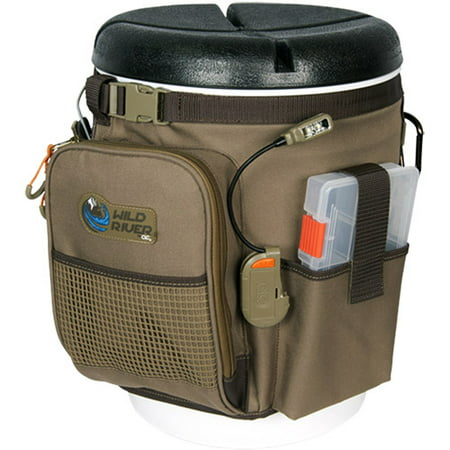 Led Buckle - Wild River Rigger 5-Gallon Bucket Organizer with LED Light System