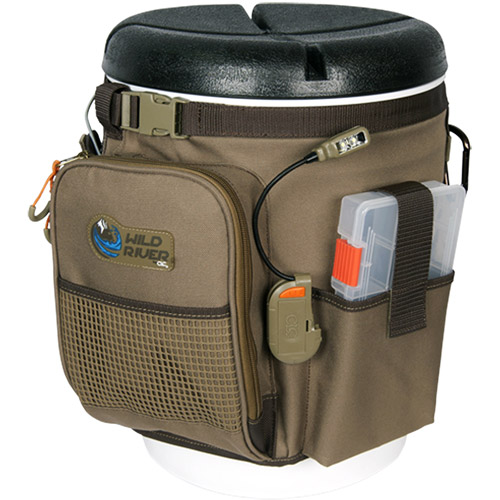 Wild River Rigger 5-Gallon Bucket Organizer with LED Light System