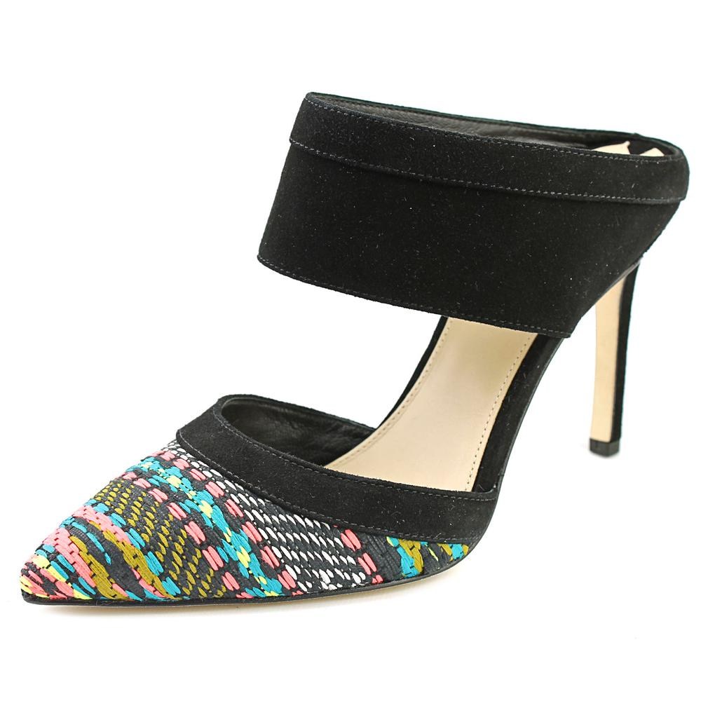 Womens Via Spiga Dahlia2 Mule Cuff Pumps - Multi