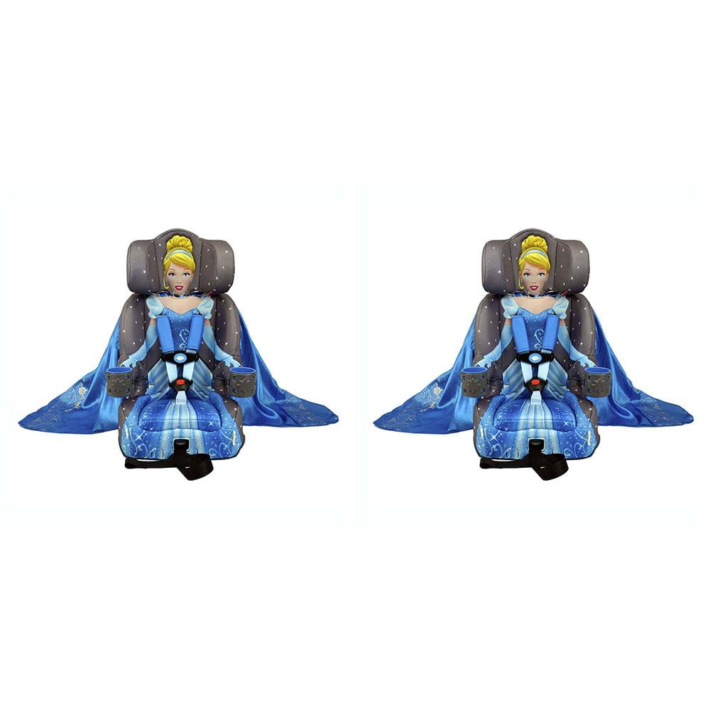 Kids Embrace Disney Cinderella Platinum Combo Harness Booster Car Seat (2 Pack)
