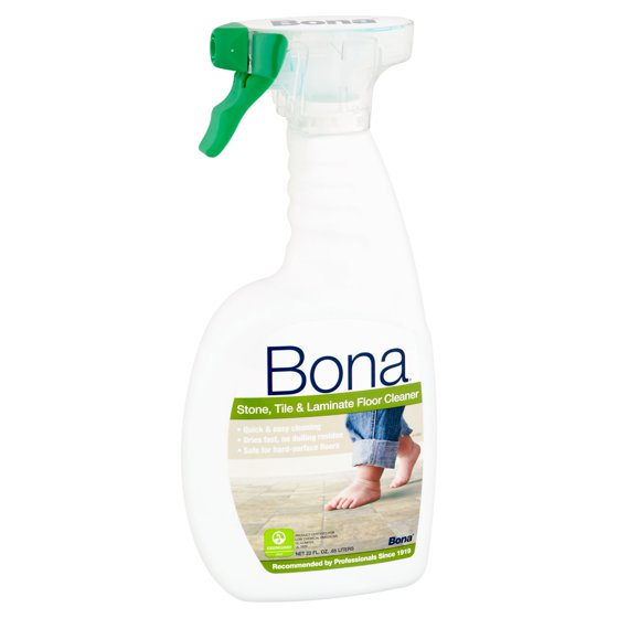 Bona Stone Tile Laminate Floor Cleaner 22 Oz Walmart