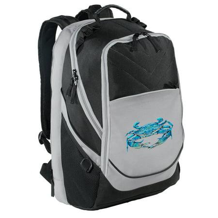 Blue Crab Backpack Our Best Blue Crabs Laptop Computer Backpack Bag