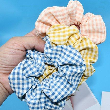 Colorful Velvet Hair Scrunchies Set Elastic Hair Bobbles Hair Accessories - image 2 de 7