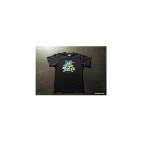 MagPul Manifa Bay Surf Club T-Shirt, Black, Medium MP MAG610-BLK-M