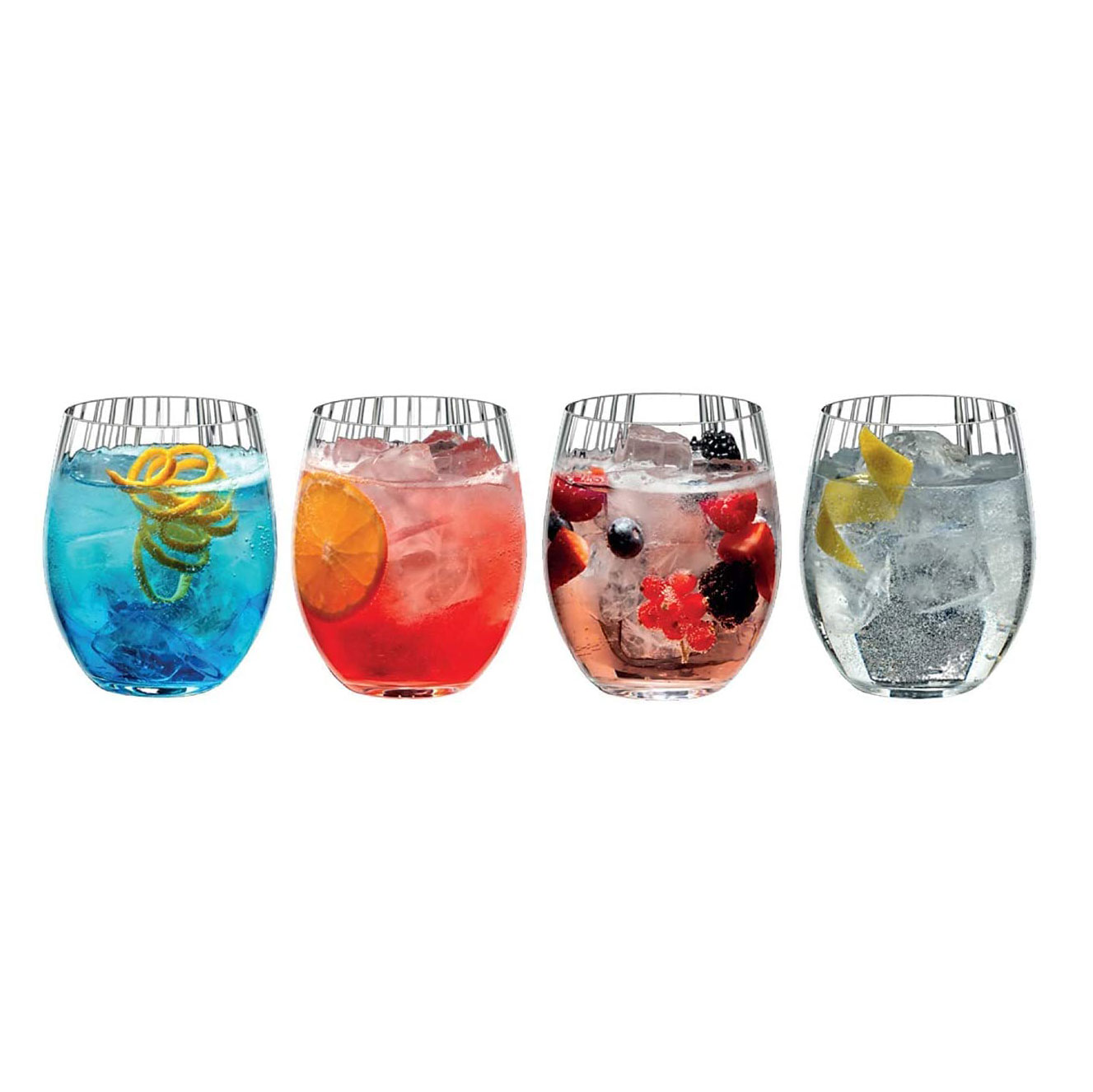 Riedel Tumbler Collection Mixing Series Tonic Cocktail Set Set Of 4 Glasses Walmart Com Walmart Com