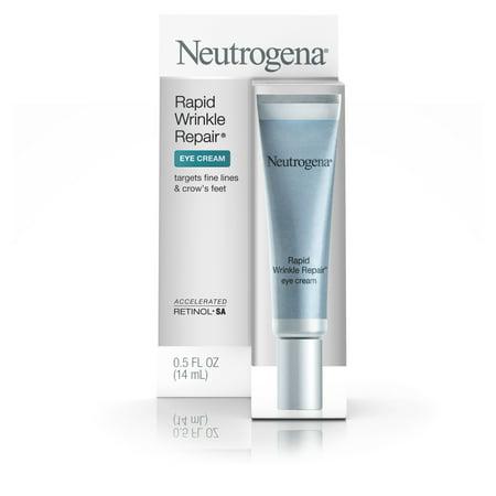 Neutrogena rides rapide réparation Crème contour des yeux avec rétinol, 0 0,5 Fl. Oz.