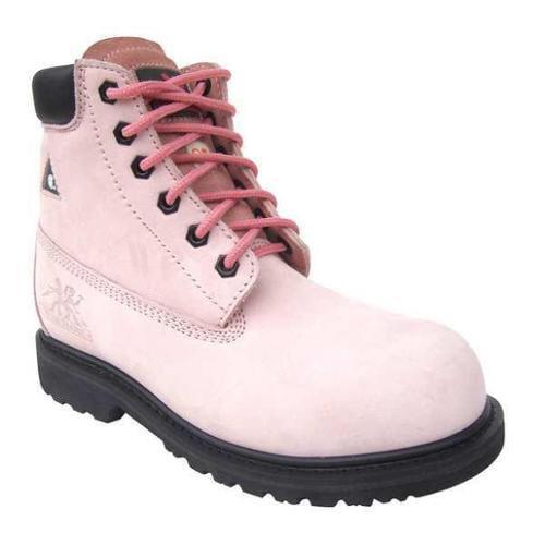 MOXIE TRADES 60121 Work Boots, Comp, Wmn, Pink, 6, PR