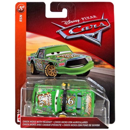 Disney Cars RSN Chick Hicks with Headset Diecast Car