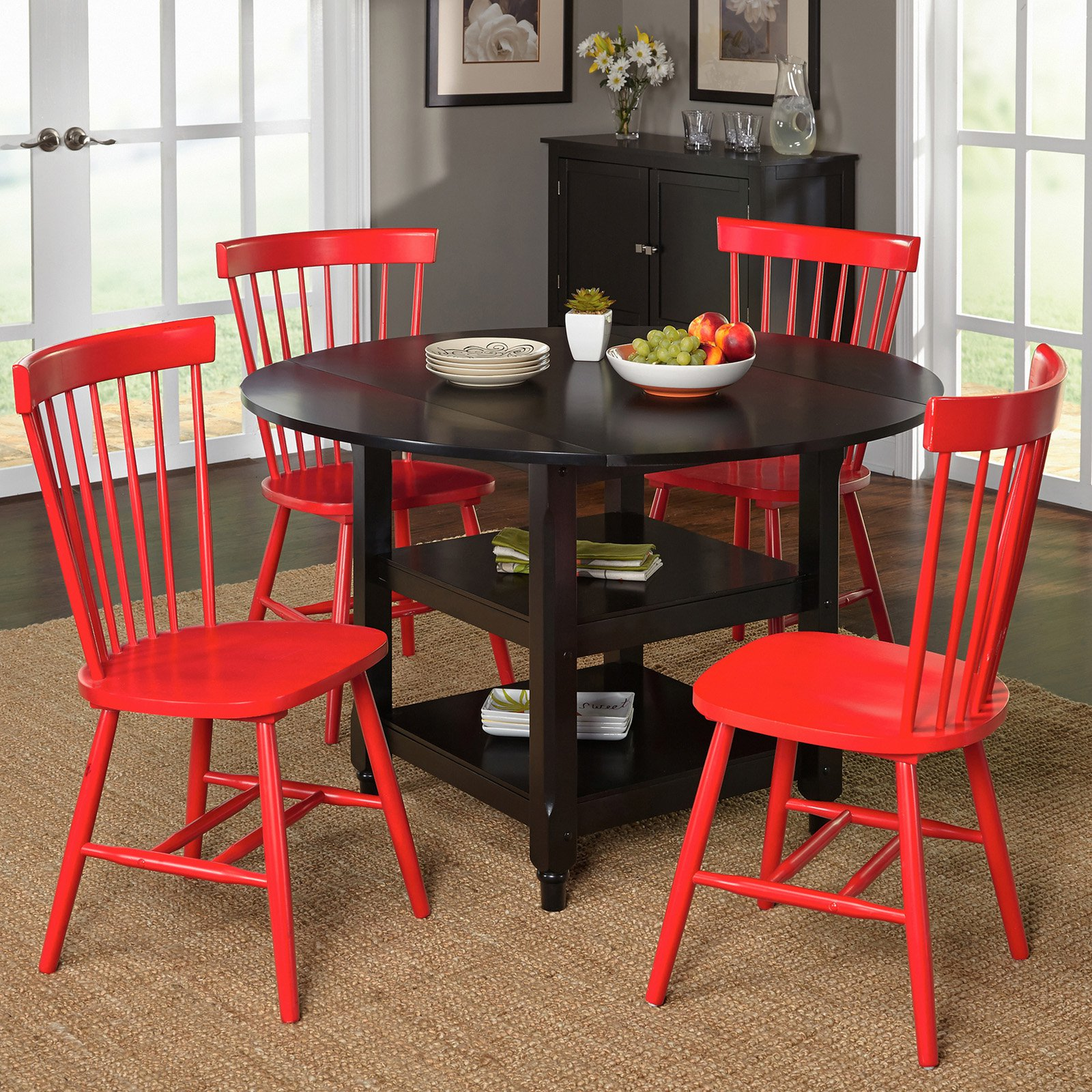 Target Kitchen Tables: Target Marketing Systems Tamara 5 Piece Dining Table Set