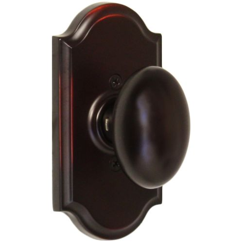 Weslock 1705J Julienne Single Dummy Door Knob with Premiere Rose from the Elegance Collection