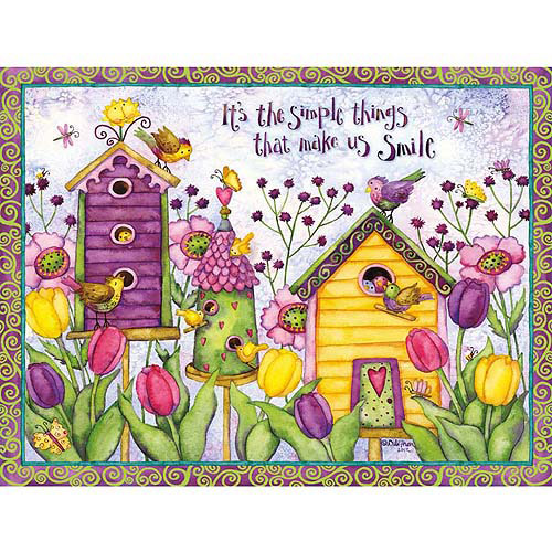Lang Bird Houses Deluxe Note Card Set