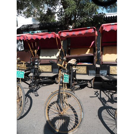 LAMINATED POSTER Bike Taxi Rahman China Poster Print 24 x (Bike Taxi)
