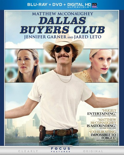 Dallas Buyers Club (Blu-ray + DVD + Digital Copy)