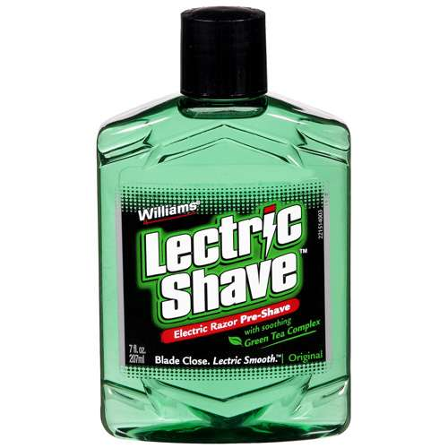 Williams Electric Razor Pre Shave Original With Soothing Green Tea Complex Lectric Shave 7 fl oz