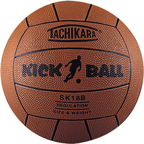 Tachikara SK18B Official Size Rubber Kickball